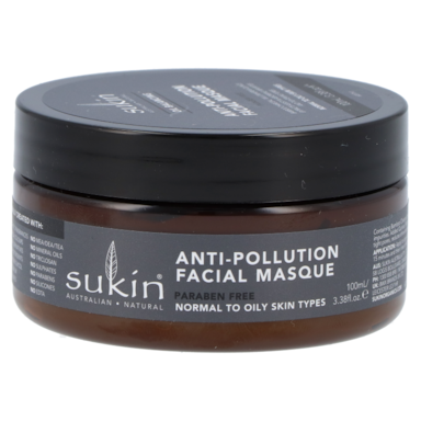 Sukin Oil Balancing Anti-Pollution Facial Masque + Charcoal
