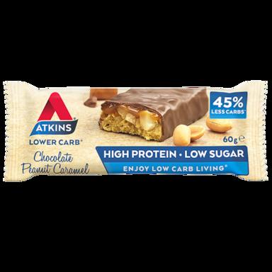 Atkins Chocolate Peanut Caramel 60g