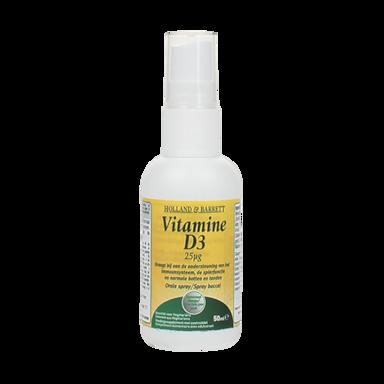 Holland & Barrett Vitamine D3 Spray 25 mcg