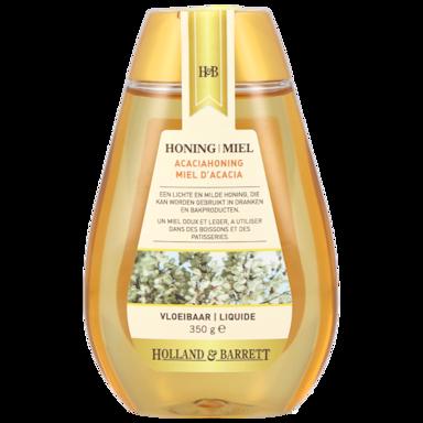 Holland & Barrett Acacia Honing Vloeibaar Fles (350gr)