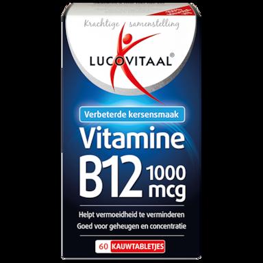 Lucovitaal Vitamine B12, 1000mcg (60 Kauwtabletten)