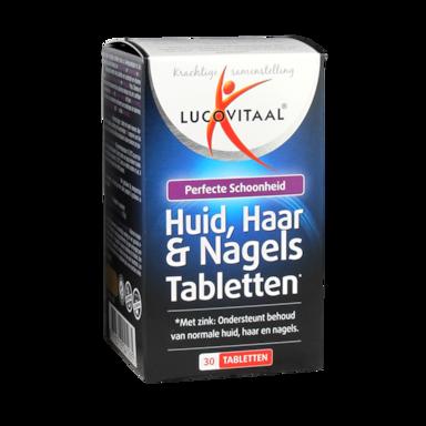 Lucovitaal Huid, Haar & Nagels (30 Tabletten)