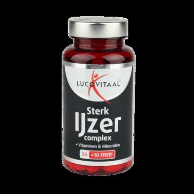 Lucovitaal Sterk IJzer Complex (60 Tabletten)