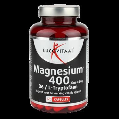 Lucovitaal Magnesium, 400mg (120 Capsules)