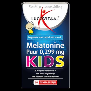 Lucovitaal Melatonine Puur Kids, 0.299mg (30 Zuigtabletten)