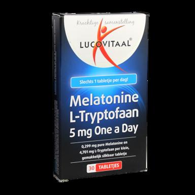Lucovitaal Melatonine L-Tryptofaan (30 Tabletten)
