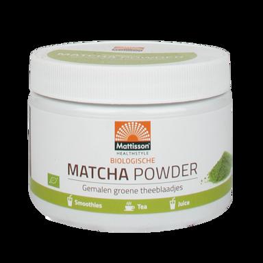 Mattisson Matcha Poeder Bio (125g)