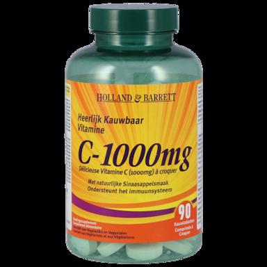 Holland & Barrett Vitamine C, 1000mg (90 Kauwtabletten)