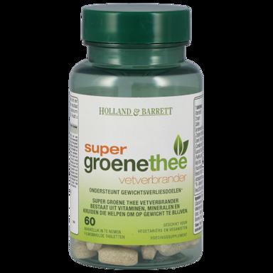 Holland & Barrett Super Groene Thee Vetverbrander (60 Tabletten)