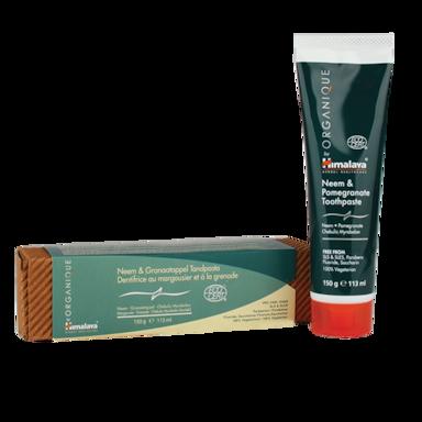 Himalaya Neem & Pomegranate Toothpaste Eco Bio (150gr)