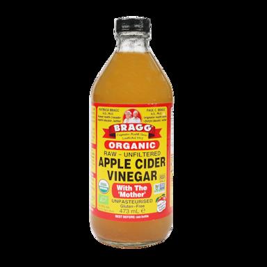 Bragg Apple Cider Vinegar Troebel Bio (473ml)