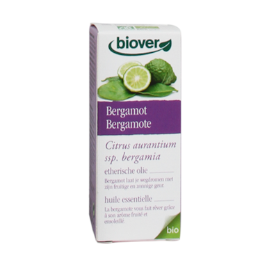Biover Bergamot Olie Bio (10ml)