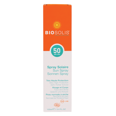 Biosolis Sun Spray SPF 50 (100ml)