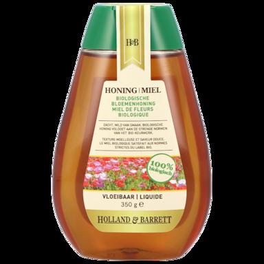 Holland & Barrett Bloemenhoning Vloeibaar Bio Fles (350gr)