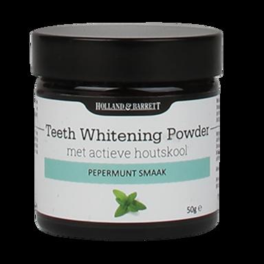 Holland & Barrett Teeth Whitening Powder Actieve Houtskool
