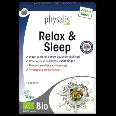 Physalis Relax & Sleep Bio (45 Tabletten)