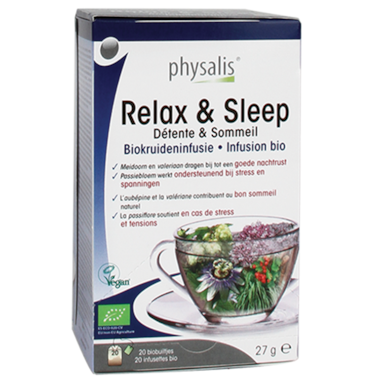 Physalis Infusion de plantes Relaxation & Sommeil Bio