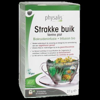 Physalis Kruideninfusie Strakke Buik Bio (20 Theezakjes)