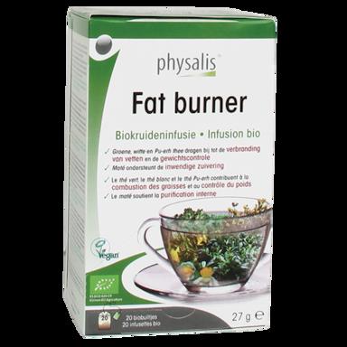 Physalis Kruideninfusie Fat Burner Bio (20 Theezakjes)