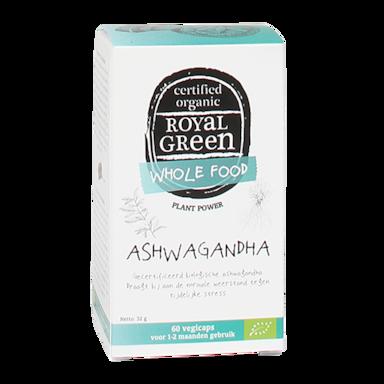 Royal Green Ashwagandha Bio, 445mg (60 Capsules)