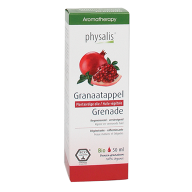 Physalis Granaatappel Olie Bio