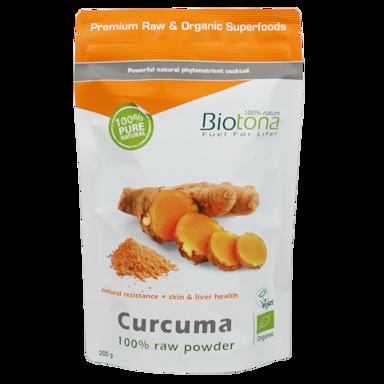 Biotona Curcuma Raw Poeder Bio (200gr)