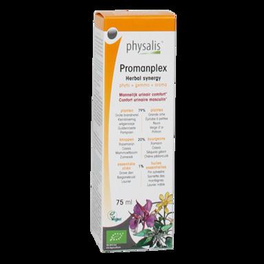 Physalis Promanplex Kruiden Synergie Druppels Bio (75ml)