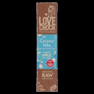 Lovechock Coconut Nibs Vegan Milk Bio (40gr)