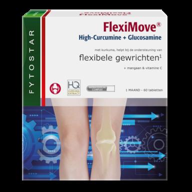 Fytostar FlexiMove High-Curcumine + Glucosamine (60 Tabletten)