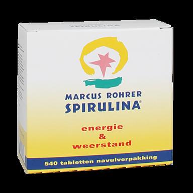 Marcus Rohrer Spirulina Navulling (3x180 Tabletten)