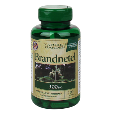 Nature's Garden Brandnetel, 300mg (100 Capsules)