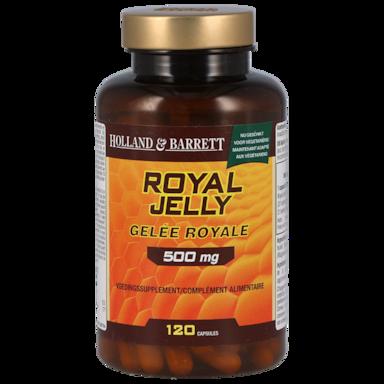 Holland & Barrett Royal Jelly, 500mg (120 Capsules)