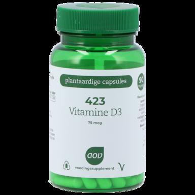 AOV 423 Vitamine D3, 75mcg (90 Capsules)