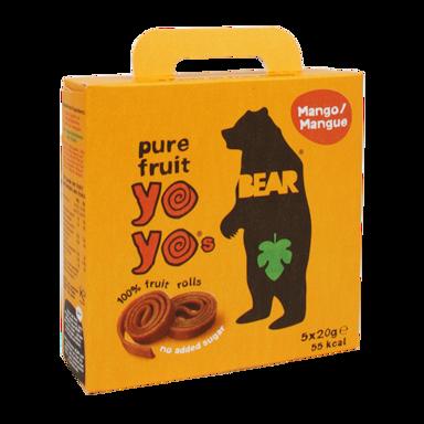 Bear Yoyo Mango Fruitrolletjes (100gr)