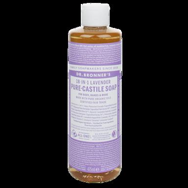 Dr Bronner's Pure Castile Zeep Lavendel 475ml