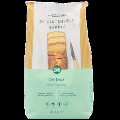 De Glutenvrije Bakker Cakemix (450gr)