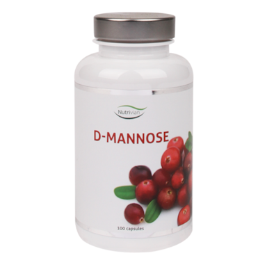 Nutrivian D-Mannose, 500mg (100 Capsules)