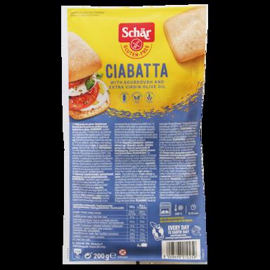 Dr Schar Ciabatta blanche 200 g