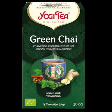 Yogi Tea Green Chai Bio (17 Theezakjes)