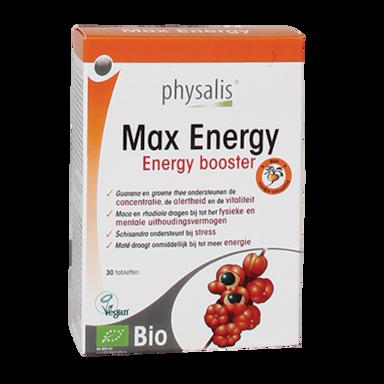 Physalis Max Energy Bio (30 Tabletten)