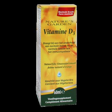 Nature's Garden Vitamine D3 Vloeibaar (60ml)