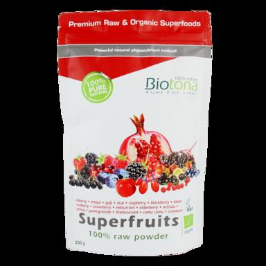 Biotona Superfruits Poeder Bio (200gr)