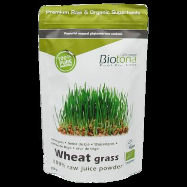 Biotona Wheat Grass Poeder Bio (200gr)
