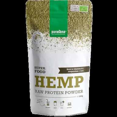 Purasana Hemp Protein Raw Powder Bio (200gr)