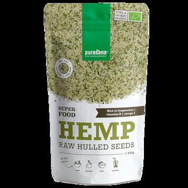 Purasana Hemp Seeds Raw Bio (200gr)