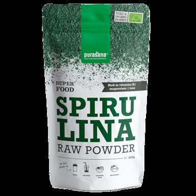 Purasana Raw Spirulina Poeder Bio (200gr)