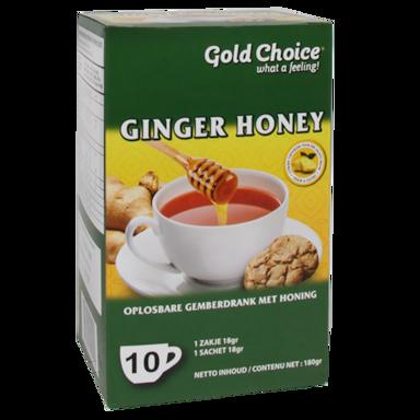 Gold Choice Ginger Honey Drink (10 Theezakjes)