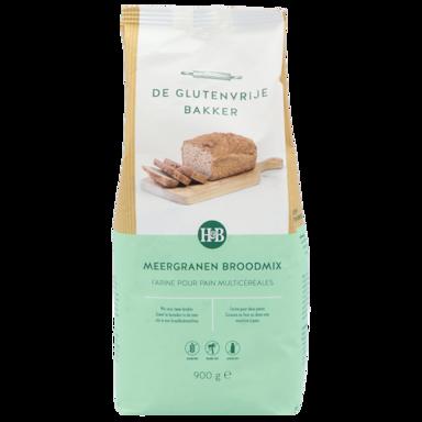 De Glutenvrije Bakker Broodmix Meergranen (900gr)