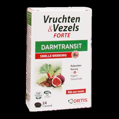 Ortis Vruchten & Vezels Forte Darmtransit (24 Tabletten)