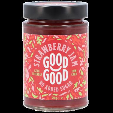 Good Good Sweet Jam Strawberry Met Stevia (330gr)